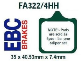 FA322/4HH Front Brake Pads