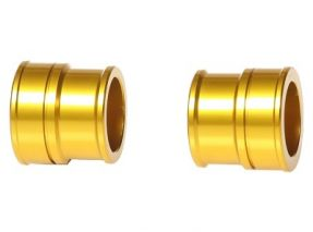 RMZ Gold Wheel Spacers - FRONT