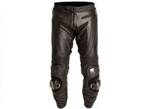 Black Series Leather Jeans